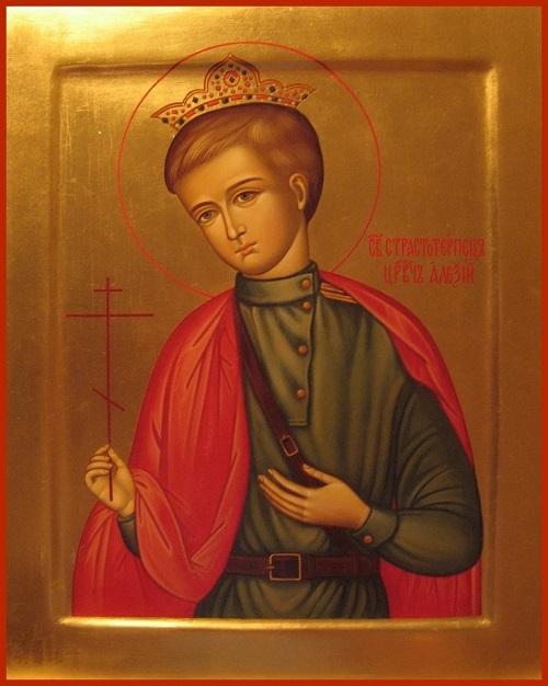 икона цесаревича для вог